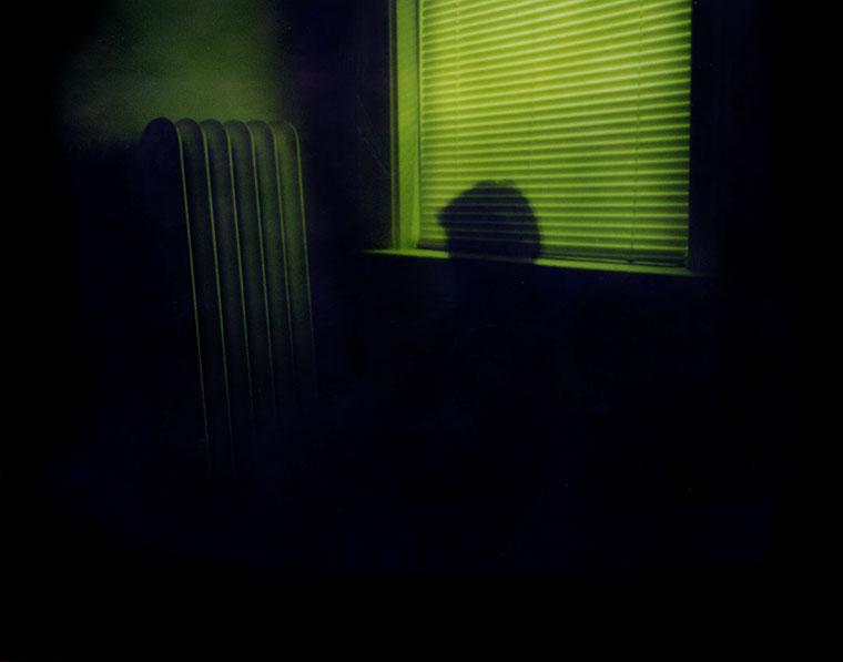 Iván Cortázar's Pinhole Self Portrait by a window